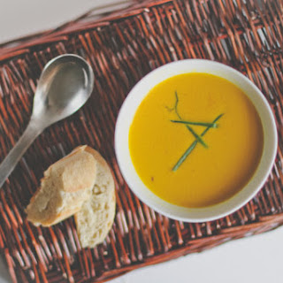Curry Coconut-Carrot Soup