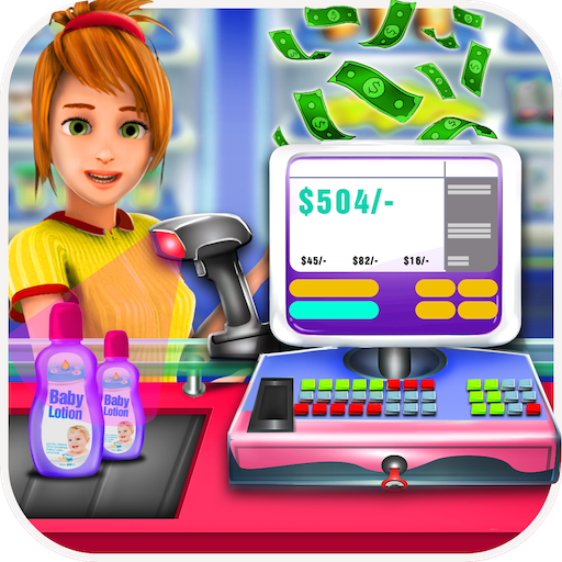 Grocery Store Cash Register (game)