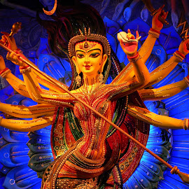 DURGA PROTIMA, KOLKATA, INDIA by Sukamal Biswas - Artistic Objects Other Objects