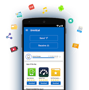 Shareall  Transfer  &  Share  No Internet Required    Android Apps On Google Play