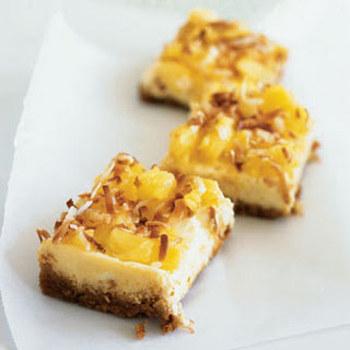 Pin?a Colada Cheesecake Bars