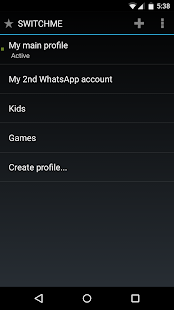 App SwitchMe Multiple Accounts APK for Windows Phone
