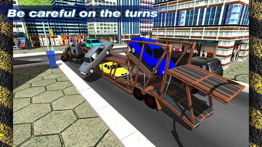 android Transporter Truck Trailer 3D Screenshot 5