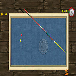 Carom - 3 Cushion Billiard 3D Icon