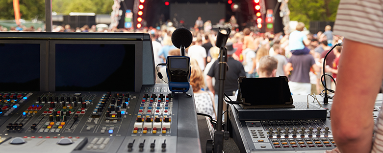 audio visual lighting for events