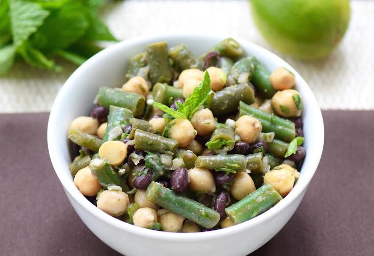 Mexican Three Bean Salad Rezept | Yummly