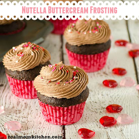 Nutella Buttercream Frosting and 23 Other Nutella Recipes