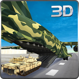 Army Cargo Plane Airport 3D