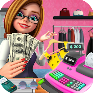 Shopping Mall Girl Cashier Game - Cash Register For PC (Windows & MAC)