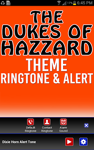 The Dukes of Hazzard Ringtone - screenshot