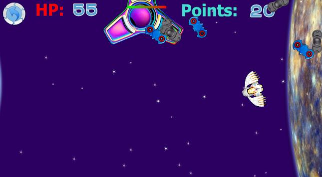 Destroy spinner: SPACE DEFENCE apk screenshot