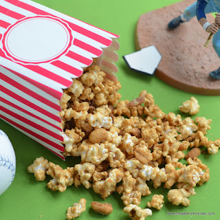 Homemade Cracker Jack Caramel Popcorn Mix