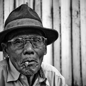Old#1 by Juang Rahmadillah - People Portraits of Men ( black and white, street, people )