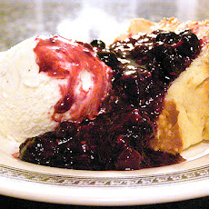 Never Fail Pound Cake with Warm Berry Compote