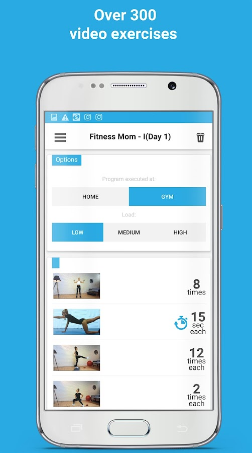 DemiFit: Fitness for women Screenshot 1