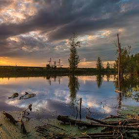 may sunset by Cornelius D - Landscapes Sunsets & Sunrises