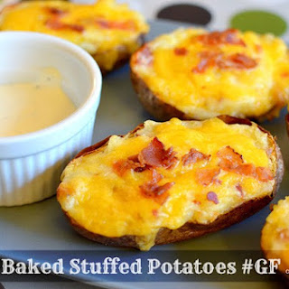 Gluten-Free Twice-Baked Stuffed Potatoes
