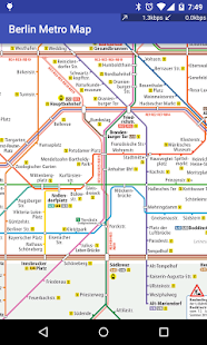 Berlin Metro Map - screenshot