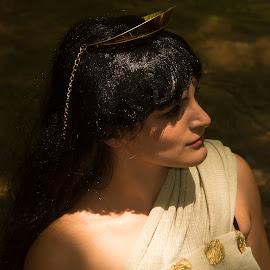 Cleopatra by Kine Akasi - People Portraits of Women