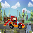 Toons Racing highway fury icon