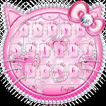 Kitty Pink Diamonds Keyboard Theme Icon