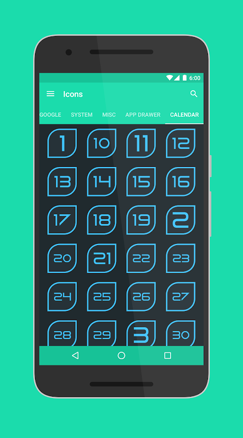 Folium - Icon Pack Screenshot 2