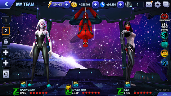 MARVEL Future Fight APK for Ubuntu