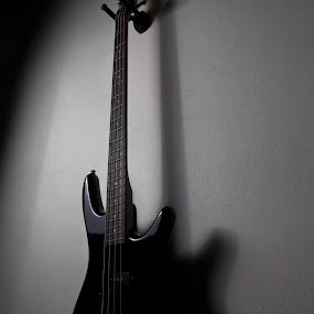 Ibanez  by Arthur John A M - Products & Objects Education Objects ( bass, gio, ibanez, black, soundgear )
