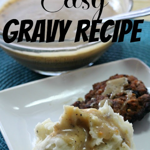 Easy Gravy Recipe – My Best Gravy