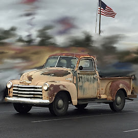 Future Ride! by Carrie Cadenas - Transportation Automobiles ( old truck rust )