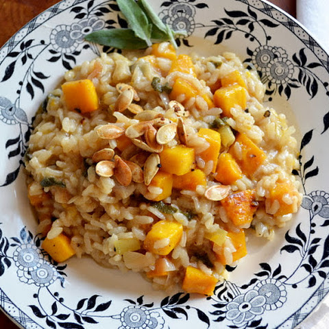 Pumpkin Risotto with Browned Butter and Sage