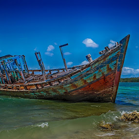 Shipwreck by Einto R - Transportation Boats