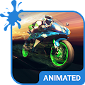 Moto Speed Animated Keyboard
