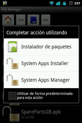 System Apps Installer [ROOT] screenshot 3