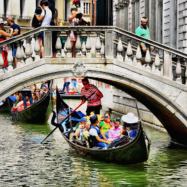 Sotto il Ponte by Francis Xavier Camilleri - City,  Street & Park  Historic Districts
