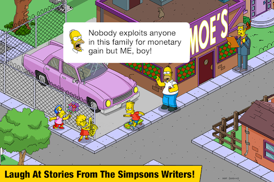 The Simpsons™: Tapped Out apk screenshot