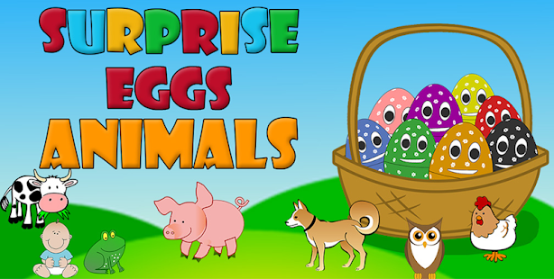 Surprise Eggs - Animals : Game for Baby / Kids for pc