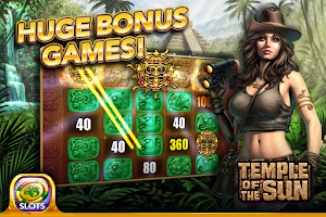 Screenshot of Golden Sand Slots Free Casino
