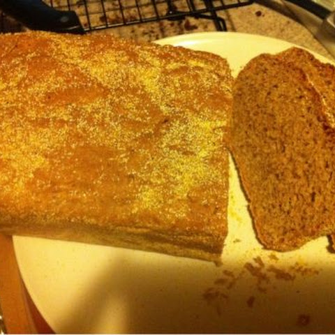Whole Wheat English Muffin Bread