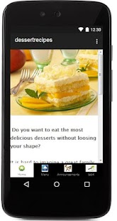 Dessert Recipes - screenshot