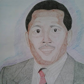 Chairman Kaberere by Reagan Muriuki - Drawing All Drawing