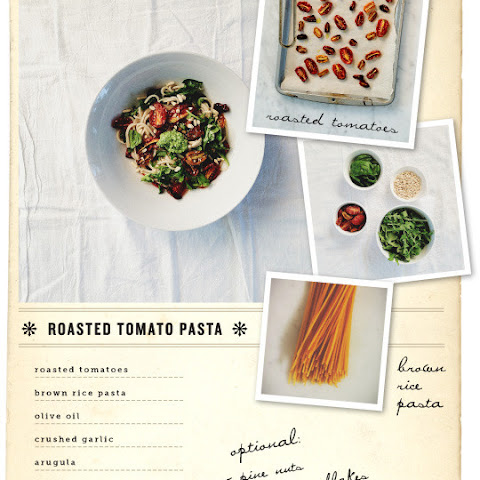 Roasted Tomato Brown Rice Pasta