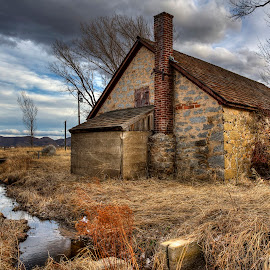 Stone House by Lee Molof - Buildings & Architecture Decaying & Abandoned