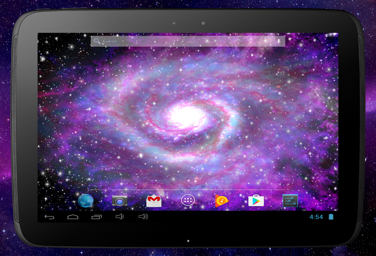 Galaxy Pro Live Wallpaper Screenshot 10