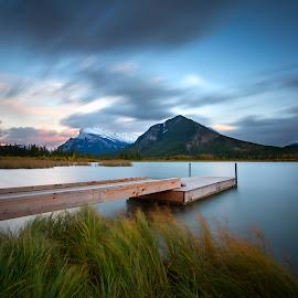 Canadian Rockies by Ken Smith - Landscapes Travel ( mt rundle, canada, vermilion lakes, landscape, banff )