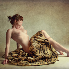 Skin on Skin by John McNairn - Nudes & Boudoir Artistic Nude ( colour, studio, scotland, model, nude, creative )