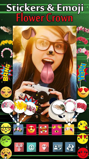 Swap Dog Four Face - Collage Sticker Photo Editor