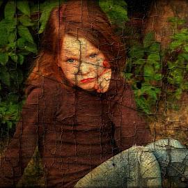 Having A Thoughtful Moment by Cheryl Korotky - Babies & Children Child Portraits