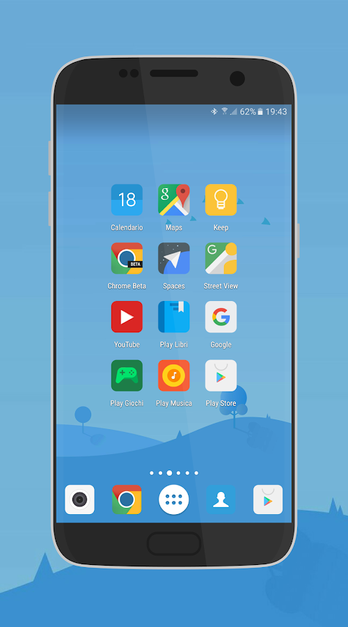 MIUI 8 - Icon Pack (beta) Screenshot 0