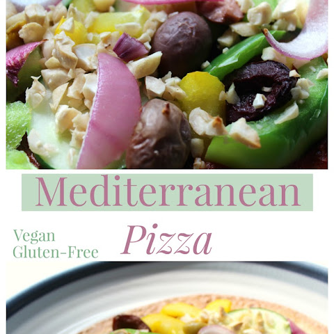 Recipe ReDux #20 Mediterranean Pizza